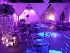Blue & Purple #wedding at Heaven Event Center #orlandowedding #weddinginspiration
