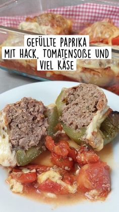 Minced Meat Dishes, Ketogenic Diet, Low Carb Recipes, Beef, Chicken, Paleo, Unstuffed Peppers, Low Carb, Meat
