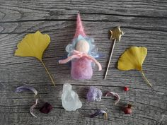Pink fairy doll  fairy doll  Christmas gift for girls by ClaudiaNanniFineArt #etsy #Waldorf #fairy #doll
