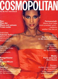 Magazine photos featuring Beverly Johnson on the cover. Beverly Johnson magazine cover photos, back issues and newstand editions. Magazine Front Cover, Fashion Magazine Cover, Magazine Covers, African American Models, Francesco Scavullo, Colorado, Kelly Lebrock, Pin Up, Beverly Johnson