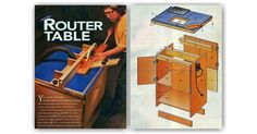 Homemade Router Table - Router Tips, Jigs and Fixtures | WoodArchivist.com