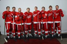 "The Detroit Red Wings' Swedish Seven have no problem with the fact that they are, in effect, ""Team Sweden,"" as Nicklas Lidstrom told the Associated Press's Larry Lage: May Associated Press: ""It's a big deal back home,"" Lidstrom said. Detroit Hockey, Detroit Sports, Hockey Teams, Hockey Rules, Hockey Stuff, Sports Teams, Red Wings Hockey, The Swede, Wayne Gretzky"