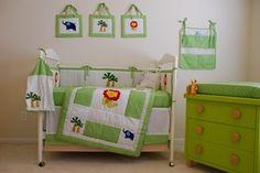 11 Pcs Boutique Baby Boy Cute Animal Crib Bedding Set | eBay