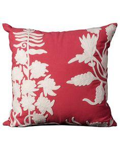 Nourison 'Crochet Floral' Pillow