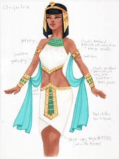 Pharaoh Costume, Egyptian Costume, Egyptian Goddess, Egyptian Art, Egyptian Fashion, Fashion Illustration Sketches, Dress Sketches, Fashion Figures, Indian Designer Outfits