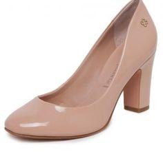 77e880b4bf Scarpin Capodarte Bico Redondo Nude Capodarte Shoe Brands