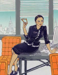 Yuko Shimizu Yuko Shimizu, Type Illustration, Hello Kitty, Disney Characters, Fictional Characters, Japan, Disney Princess, City, Artist