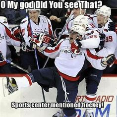 Don't you know #hockey deserves more coverage!?!
