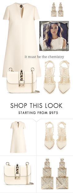 """""""It must be."""" by schenonek ❤ liked on Polyvore featuring Valentino"""
