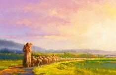 Shepherds and Fishermen Consider this conversation between Jesus Christ and two of his disciples, Peter and Andrew, when he first called them to ministry: And Jesus, walking by the sea of Galilee, … Images Of Christ, Pictures Of Jesus Christ, Bible Images, Bible Pictures, Lds Art, Bible Art, Arte Lds, Padre Celestial, Jesus Painting