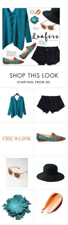 """Fall Footwear Trend: Loafers  (chiclookcloset.com 19)"" by meyli-meyli ❤ liked on Polyvore featuring Etro, San Diego Hat Co., loafers and chiclookcloset"