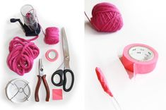 Le mot tricotin   petit tuto Wire Crafts, Easy Crafts, Diy And Crafts, Coin Couture, Spool Knitting, Creation Couture, Knit Or Crochet, String Art, Diy For Kids