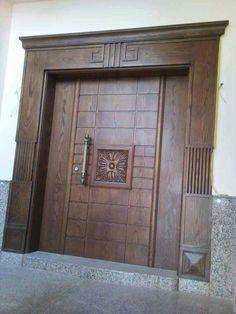 Main Entrance Door Design, Wooden Front Door Design, Room Door Design, Wooden Front Doors, Door Design Interior, Interior Designing, In Wall Sliding Door, Interior Sliding Glass Doors, Interior Barn Doors