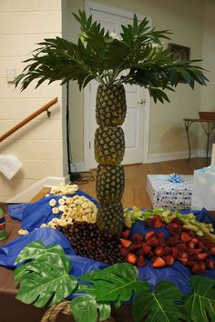 Jungle Safari Baby Shower Party Ideas   Photo 13 of 13   Catch My Party... also cute for a beach or pirate theme birthday!