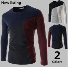 Fashion Three Color Shirt