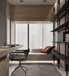 CHINA PROJECT on Behance Office Interior Design, Home Office Decor, Office Interiors, Home Decor, Entryway Decor, Study Room Design, Home Room Design, House Design, Apartment Interior