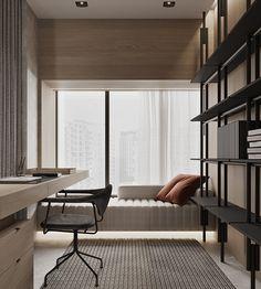 CHINA PROJECT on Behance Office Interior Design, Home Office Decor, Office Interiors, Home Decor, Entryway Decor, Apartment Interior, Room Interior, Study Room Design, My New Room