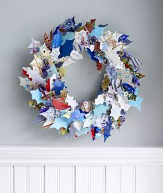 Recycled Wreath made