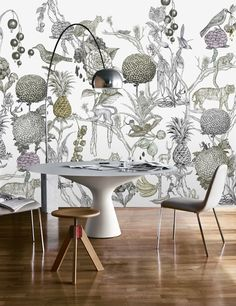 Agency | Beata Boucht - Wild at Heart - Wall mural, Wallpaper, Photowall, Home decor, Fototapet, Valokuvatapetit