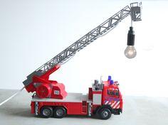 Net deze supergave lamp gekocht!!!   fireman truck   Available at zic-zag.com