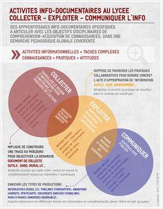 Activités info-documentaires en lycée Infographie par Gaëlle Sogliuzzo
