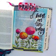 Bible Journaling by @kristenwolbach