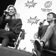 David Tennant and Billie Piper - Wizard World Comic Con