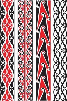 "Buy the royalty-free Stock vector ""Seamless Maori patterns."" online ✓ All rights included ✓ High resolution vector file for print, web & Social Media Maori Designs, Ulos Batak, Native Tattoos, Maori Tattoos, Maori Patterns, Maori Tattoo Patterns, Design Patterns, Maori Symbols, Polynesian Art"