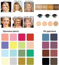 Мягкая «весна»:  девушки, обладающие умеренно контрастной внешностью, с теплым, персиковым оттенком лица и светлыми золотистыми волосами.
