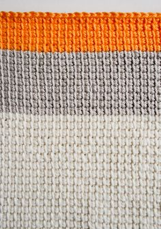 Whit's Knits: Tunisian CrochetWashcloths - The Purl Bee - Knitting Crochet Sewing Embroidery Crafts Patterns and Ideas!