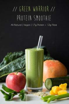 greensmoothie   Green Warrior Protein Smoothie