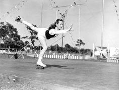 roller skating- 1952