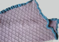 KNITTING PATTERN Diamond Baby Blanket PDF by theknittingniche, $5.50