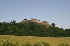 Stirling Castle - the most popular place to see in Central Scotland