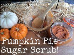 Recipe: Pumpkin Pie Sugar Scrub! http://blog.bulkapothecary.com/other-recipes/recipe-pumpkin-pie-sugar-scrub/