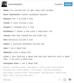 """""""<i>How to Get Away With Murder</i> is literally hoe don't do it: the series."""" <b>Warning: spoilers.</b>"""