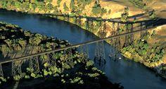 The Cowboy Trail, Rails to Trails, Trestle over the Niobrara River near Valentine © NEBRASKAland Magazine/Nebraska Game and Parks Commission