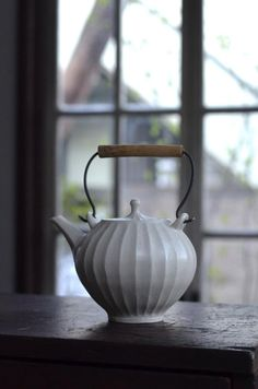 Still life. Tomoko's earthenware teapot.