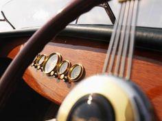 wooden boat steering wheel