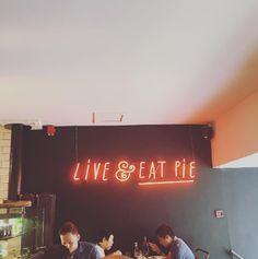 Pie day pie day gotta get down on pie day🍴 Pie, Neon Signs, Torte, Cake, Fruit Pie, Pai, Tart, Cheeseburger Paradise Pie, Pot Pie