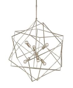Currey And Company Aerial 31 Inch Chandelier