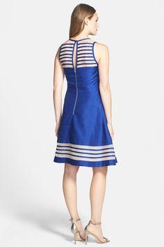 Taylor Dresses Silk & Shantung Dress by Taylor on @nordstrom_rack