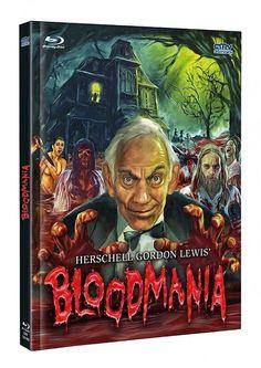 Herschell Gordon Lewis' Bloodmania - Mediabook (+ DVD) [Blu-ray] [Limited Edit