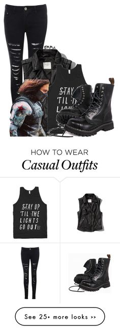 """Winter Soldier inspired: casual"" by tardis-221b on Polyvore"