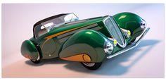 1937 Delahaye 135M Figoni by rOEN911 on DeviantArt