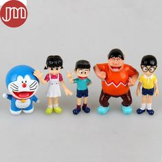 Find More Action & Toy Figures Information about New 5 PCS Doraemon Anime Figures Nobita Nobi Shizuka Minamoto Takeshi Goda Dorami Doranikov Collectible Model Toy 5 7cm Tracking,High Quality toys for baby 12 months,China toy model car kits Suppliers, Cheap model t ford prices from M&J Toys Global Trading Co.,Ltd on Aliexpress.com