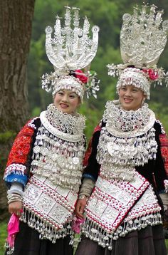 Miao dancers  China