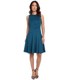 Calvin Klein Flare Dress w/ Seams