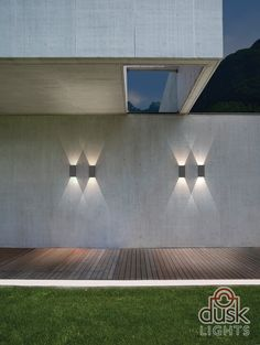 OMG So pretty .. Astro Lighting Oslo160 LED Exterior Wall Light in Painted Silver - 7060