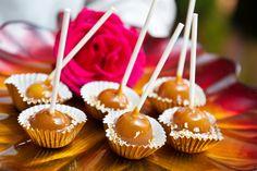 Fall Mini Desserts - mini caramel apples